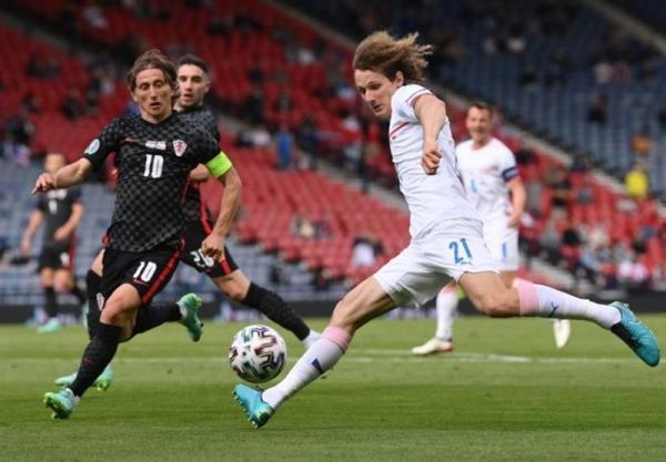 دیدار تیم ملی چک و کرواسی,یورو 2020