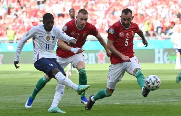 دیدار تیم ملی فرانسه و مجارستان,یورو 2020