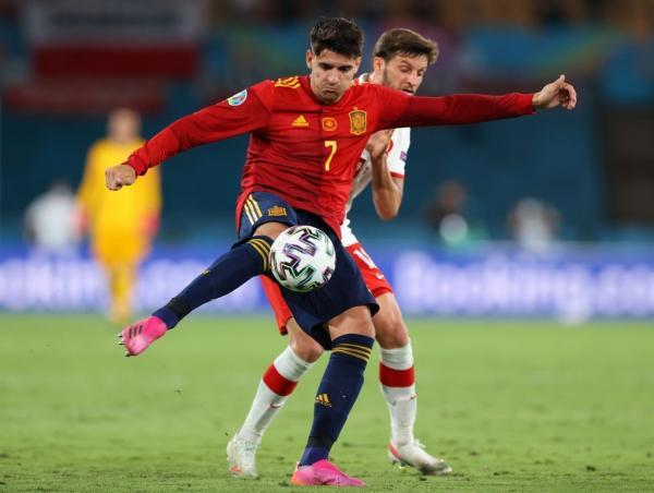 دیدار تیم ملی اسپانیا و لهستان,ِیورو 2020