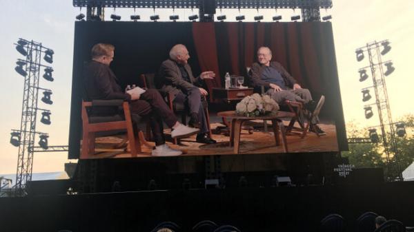 جشنواره فیلم ترایبکا,رابرت دنیرو در کنار دی کاپریو و اسکورسیزی