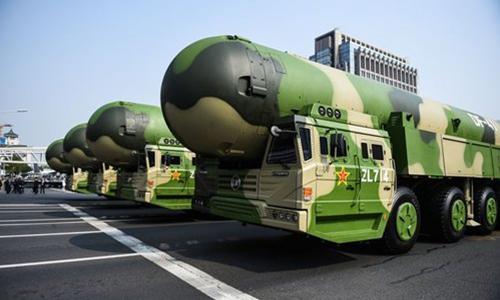 موشک های بالستیک قاره پیمای چین,تهدید چین علیه آمریکا
