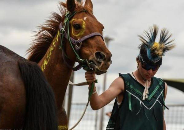 مسابقه اسب سواری بومیان آمریکا,اسب سواری بومیان آمریکایی