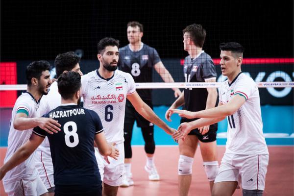 دیدار تیم ملی والیبال ایران و کانادا,لیگ ملت های والیبال 2021