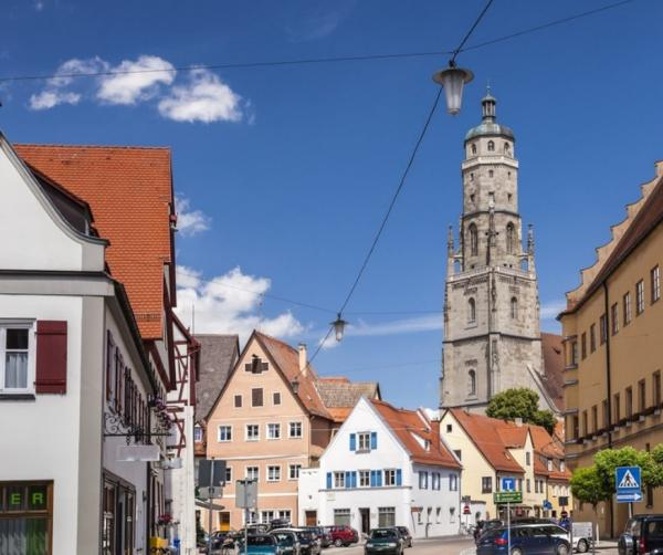 بنا شدن شهر آلمان بر روی الماس,شهر نوردلینگن آلمان
