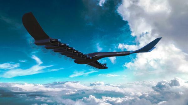 هواپیمای مسافربری هیدروژنی- برقی,هواپیما