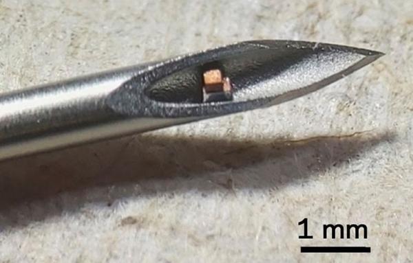 کوچک ترین تراشه قابل کاشت جهان,تراشه