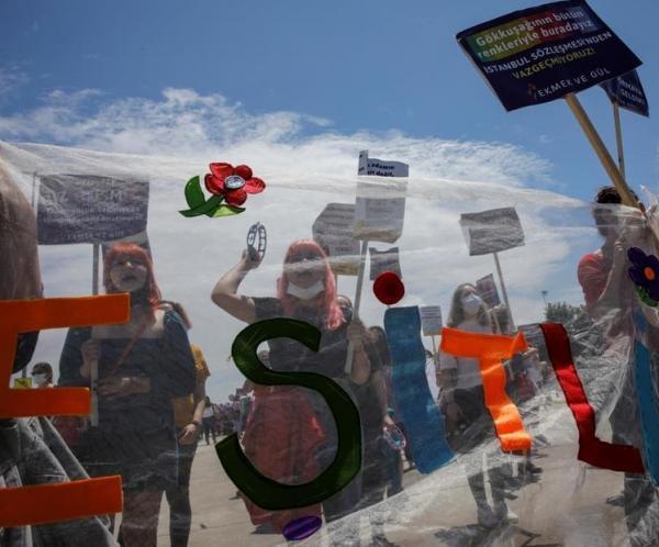 ترکیه,اعتراض زنان ترکیه