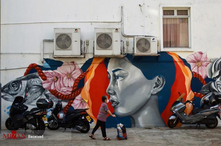 تصاویر جشنواره هنرهای خیابانی هنگ کنگ,عکس های جشنواره هنرهای خیابانی در هنگ کنگ,تصاویر گرافیتی ها در هنگ کنگ