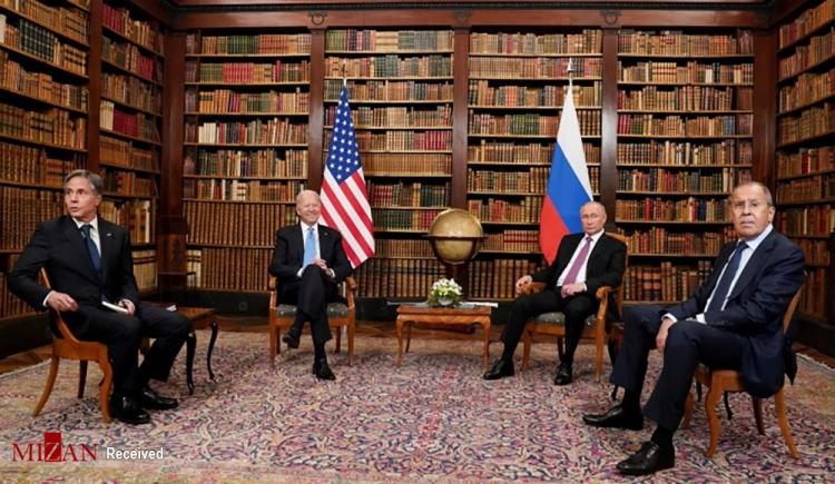 تصاویر دیدار پوتین و بایدن در ژنو,عکس های دیدار پوتین و بایدن,تصاویر دیدار رئیس جمهور آمریکا و روسیه