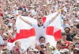 دیدار تیم ملی انگلیس و کرواسی,حادثه در دیدار انگلیس و کرواسی