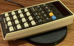 ماشین حساب HP,ماشین حسابی با قابلیت شارژ بی سیم