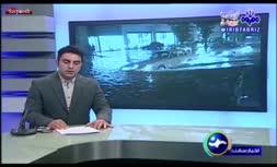 فیلم/ فیلم/ وقوع سیلاب در شهر اهر