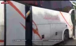 حمله با نارنجک به اتوبوس پرسپولیس در اصفهان/ پرتاب کنندگان نارنجک دستگیر شدند