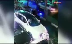 فیلم/ گوشیقاپی در کسری از ثانیه مقابل پلیس!