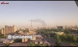 آتشسوزی عظیم در پالایشگاه شهید تندگویان تهران/ ۱۸ مخزن پالایشگاه سوخت