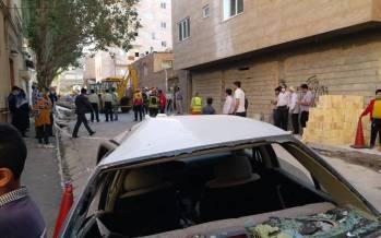 انفجار گاز در تبریز,عکس انفجار گاز در تبریز