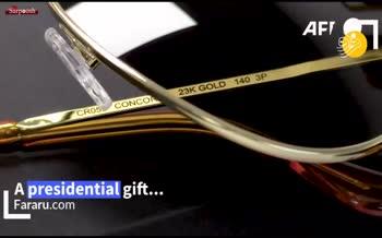 فیلم/ ماجرای عینکی که بایدن به پوتین هدیه داد