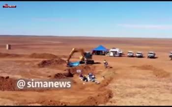 فیلم/ کشف فسیل دایناسور جدیدی در استرالیا