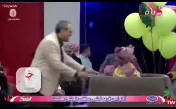فیلم/ جشن تولد ۷ سالگی خندوانه و رقص چاقوی جناب خان