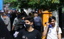 تصاویر پیک پنجم کرونا در تهران,عکس های وضعیت مردم در شرایط کرونا,تصاویر وضعیت شهر تهران در پیک پنجم کرونا