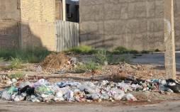 تصاویر خرمشهر در اسارت زبالهها,عکس های زیباله ها در خرمشهر,تصاویری ازانباشته شدن زباله ها در خرمشهر