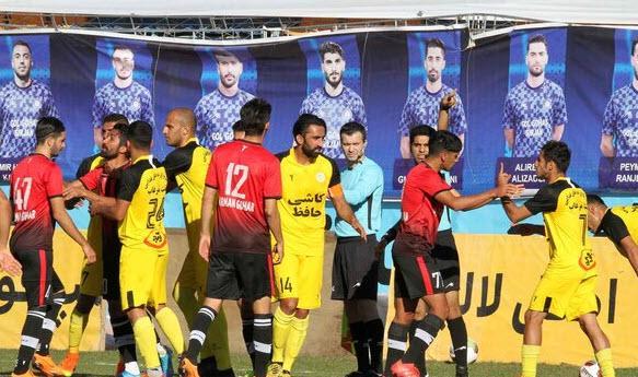 هفته سی و سوم رقابتهای لیگ دسته یک ,نتایج هفته سی و سوم رقابتهای لیگ دسته یک