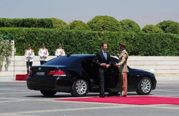 سوگند خوردن بشار اسد,بشار اسد رئیس جمهور سوریه