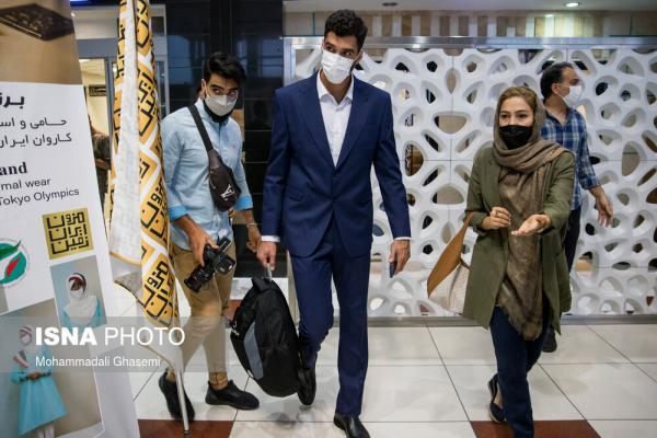 مراسم بدرقه ورزشکاران اعزامی ایران به المپیک توکیو,لباس ورزشکاران ایرانی در توکیو