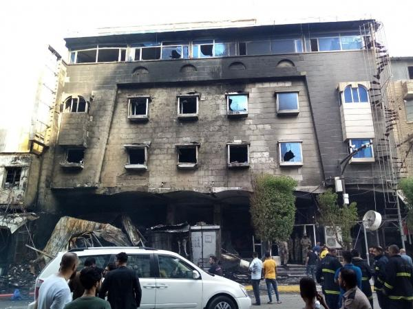 آتش سوزی در هتل کربلا,آتش سوزی های عراق