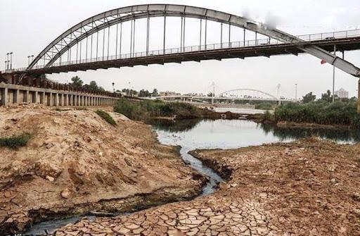 خشک شدن کرخه و کارون,تنش آبی خوزستان