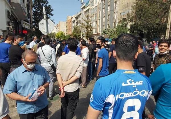 تجمع هواداران استقلال مقابل مجلس,اخبار استقلال