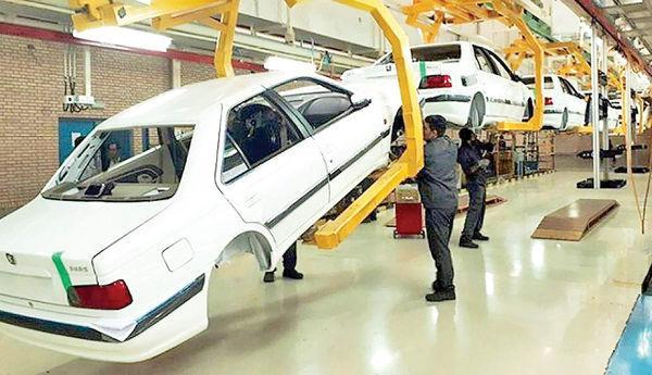 کاهش فاصله قیمت کارخانه و بازار, تولید خودرو در خرداد ب