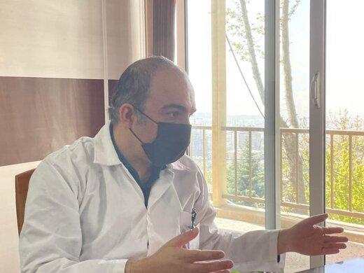 پیام طبرسی,رئیس بخش عفونی بیمارستان مسیح دانشوری