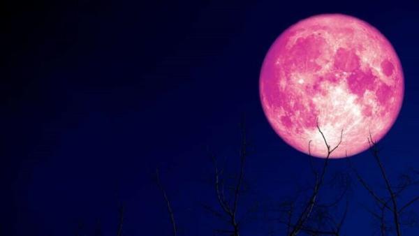 ابر ماه توت فرنگی,عکس ابر ماه توت فرنگی