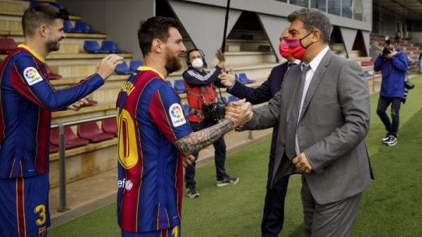 لیونل مسی,قرارداد جدید مسی با بارسلونا