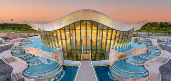 استخر دبی,عمیق ترین استخر در دبی