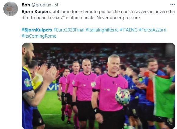 دیدار تیم ملی انگلیس و ایتالیا,فینال یورو 2020
