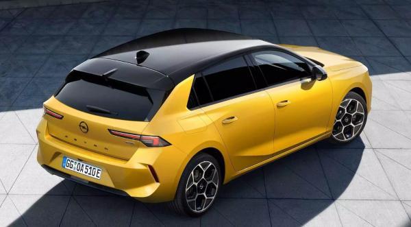 اوپل آسترا,خودروی اوپل آسترا مدل 2022
