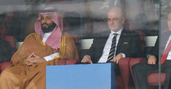 محمد بن سلمان و جیانی اینفانتینو,جام جهانی 2030