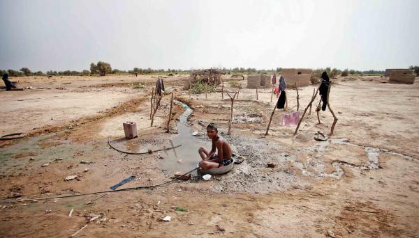 کم آبی در خوزستان,خشکسالی در خوزستان