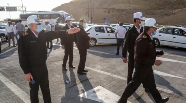 ممنوعیت تردد خودروها,اعمال ممنوعیت تردد در شرق استان تهران