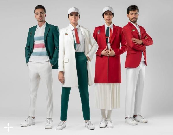 یونیفرم المپیک,لباس های پیشنهادی کاروان ایران برای المپیک توکیو