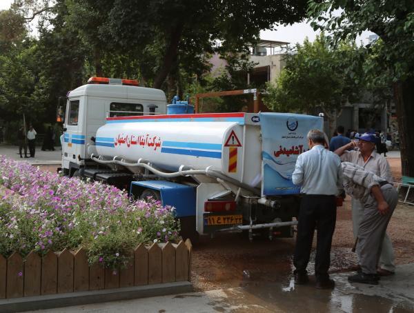 بی آبی در اصفهان,کمبود آب در اصفهان