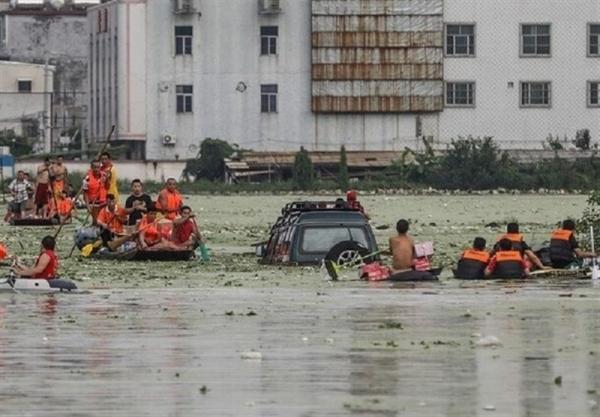 شکسته شدن سد بزرگ یک شهر درچین,حوادث چین