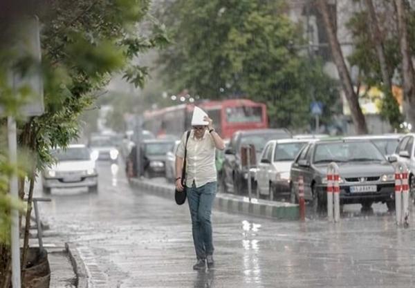 وضعیت آب و هوای کشور,بارش برف و باران درتیرماه 1400