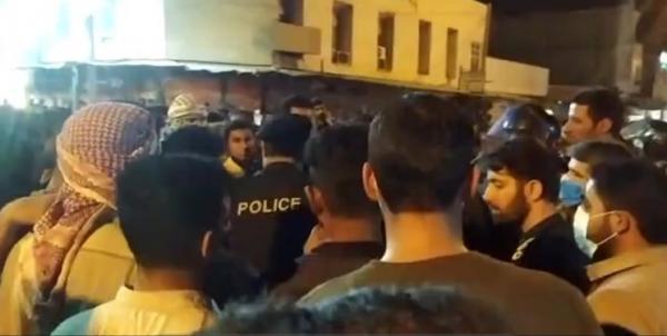 اعتراضات در خوزستان,تجمع اعتراض به بی آبی در ایذه خوزستان