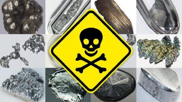 بروز بیماریهای مزمن در انسان مسمومیت با فلزات سنگین,مسمومیت با فلزات سنگین