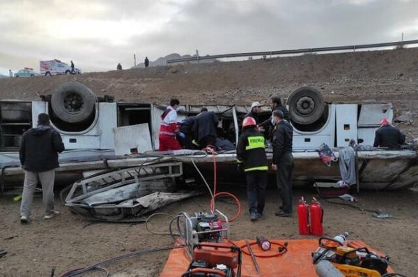 واژگونی اتوبوس در جاده هراز,ممنوع الخدمات شدن راننده اتوبوس جاده هراز