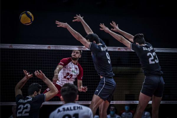دیدار تیم ملی والیبال ایران و لهستان,لیگ ملت های والیبال 2021