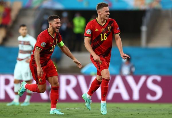 دیدار تیم ملی پرتغال و بلژیک,یورو 2020